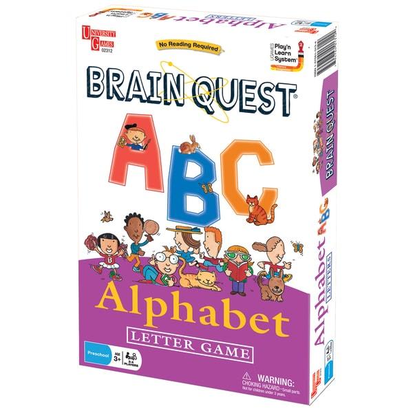Brain Quest Play'n Learn ABC Alphabet Letter Game