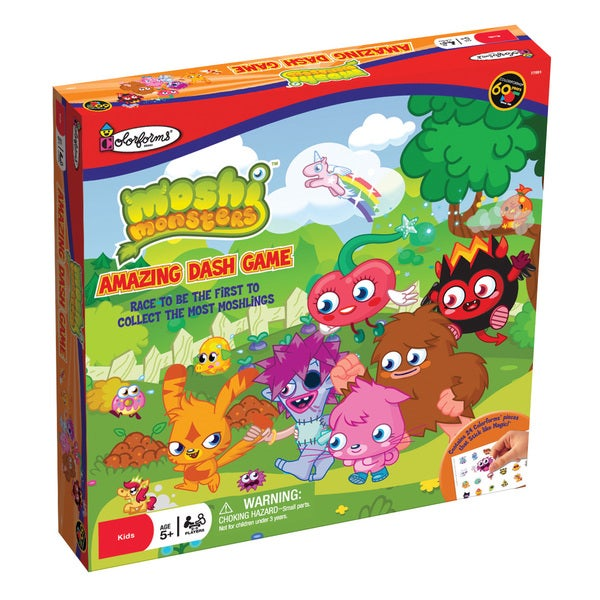Moshi Monsters Amazing Dash Game