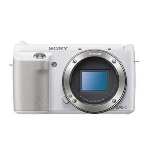 Sony Alpha NEX-F3 Mirrorless White Digital Camera Body
