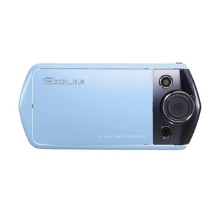 Casio Exilim EX-TR10 12.1MP Blue Digital Camera