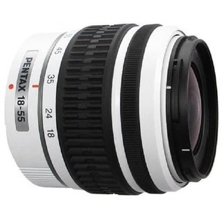 Pentax DA 18-55mm f3.5-5.6 AL WR Zoom White Lens (New Non Retail Packaging)