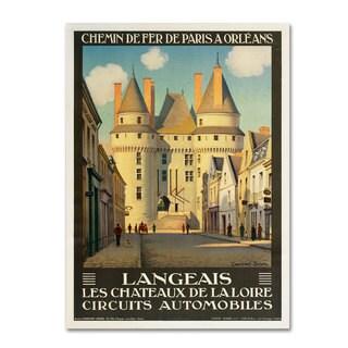 Unknown 'Les Chateaux de la Langeais' Canvas Art
