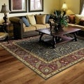 Hand-Tufted Joaquin Blue Agra Wool Rug (9' x 12')