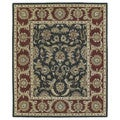 Hand-Tufted Joaquin Black Kashan Wool Rug (10' x 14')