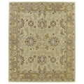 Hand-Tufted Joaquin Camel Agra Wool Rug (8' x 10')
