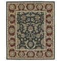 Hand-Tufted Joaquin Black Kashan Wool Rug (2' x 3')