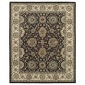 Hand-Tufted Joaquin Brown Kashan Wool Rug (4' x 6')