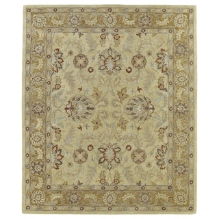 Hand-Tufted Joaquin Camel Agra Wool Rug (4' x 6')
