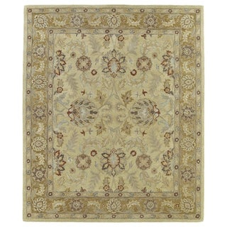 Hand-Tufted Joaquin Camel Agra Wool Rug (5' x 7'9)