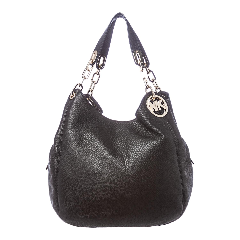 Michael Kors Fulton Black Shoulder Bag 86