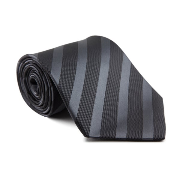 Platinum Ties Men's 'Peruvian Black' Necktie