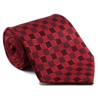 Platinum Ties Men's 'Red Moon' Necktie