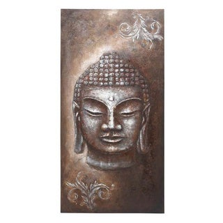 'Buddha' 79-inch Canvas Wall Art
