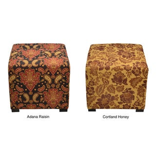 Merton 4-button Tufted Square Ottoman