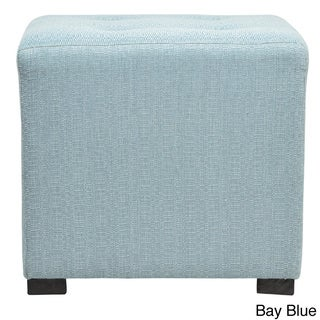 Merton 4-button Tufted Square Candice Ottoman