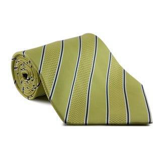 Phatties Men's 'Lime Simple Pimp' Neon 5-inch Wide Necktie