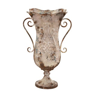 Antique Magnificence Durable Metal Vase
