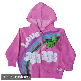 Kids Doodles the Dragon Hoodie with Finger Puppet Dragon Toy