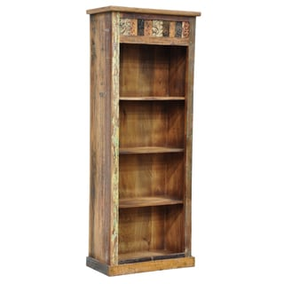 Gianna Vintage Inspired Tall Bookshelf