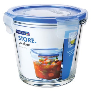 Purebox Deep Round Storage Containers