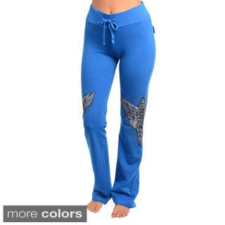 Stanzino Women's Rhinestone Detailed Lounge Pants