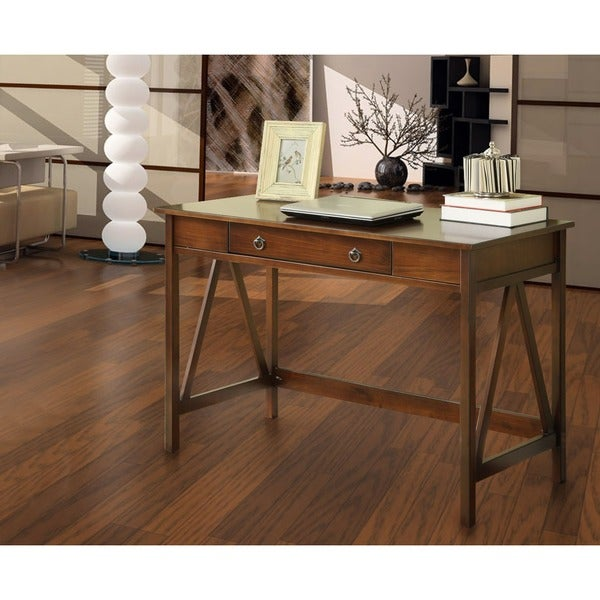 Oh! Home Tiziano Writing Desk Aged Cherry