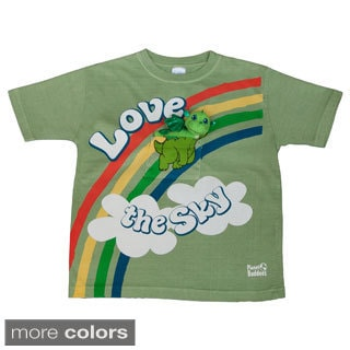 Kids Doodles the Dragon T-shirt with Finger Puppet Dragon Toy