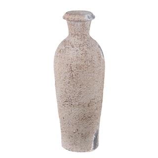 Privilege Small Ceramic Brown Vase
