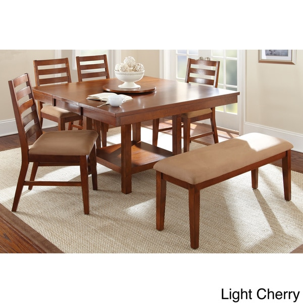 Greyson Living Emery With Lazy Susan Dining Table Set