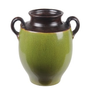 Privilege Large Ceramic Jar with Handles