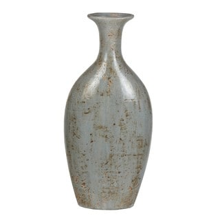 Privilege Washed Blue Ceramic Vase