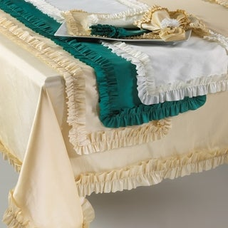 Ruffle Design Table Topper