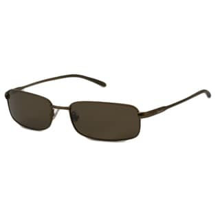 Fossil Men's Blake Polarized/ Rectangular Sunglasses