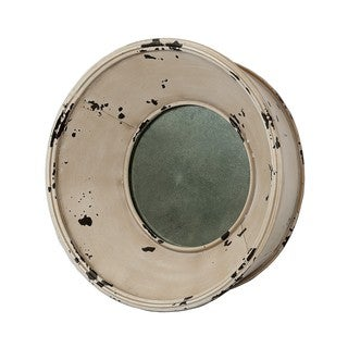 Privilege Medium Round Metal Wall Mirror