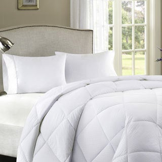 Comfort Classics Parker 300 Thread Count Dobby Dot Down Alternative Comforter with 3M Treatment