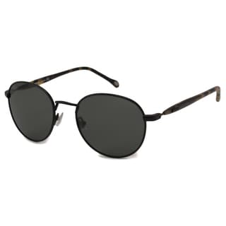 Fossil Men's Sonny Polarized Green Oval Sunglasses