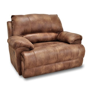 franklin caswell padre almond chair and a half recliner