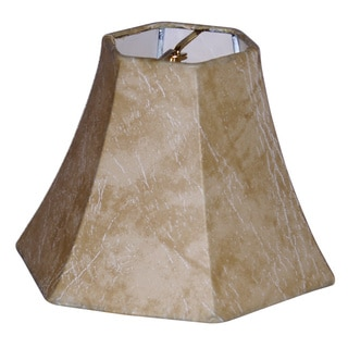 6-inch Hexagon Mini Chandelier Shade