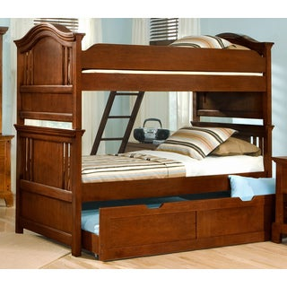 Branson Bunk Bed with Optional Storage Pedestal or Trundle
