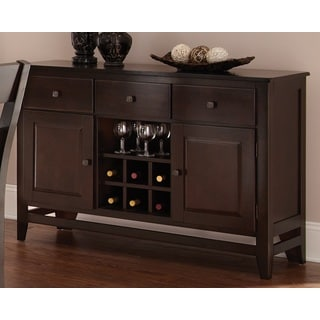 Vaughn Espresso 3-drawer Server