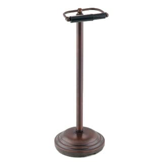 Oil Rubbed Bronze Pedestal Toilet Tissue Holder
