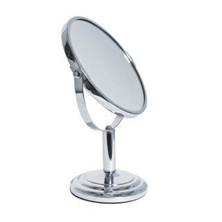 Classic Chrome Bath Vanity Mirror