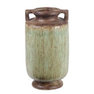 Privilege Small Handled Decorative Ceramic Container