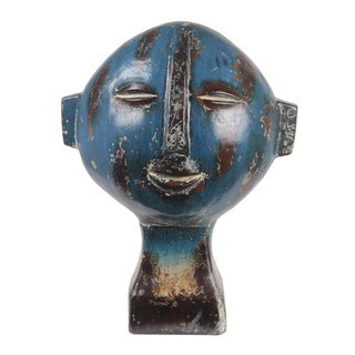 Privilege Short Ceramic Head Sculpture