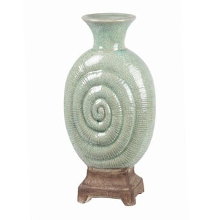 Privilege Large Spiral Ceramic Candle Holder