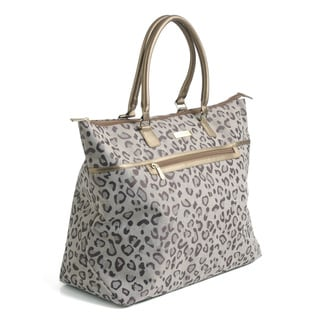 Anne Klein 'Cheetah Jacquard' Soft Travel Tote Bag