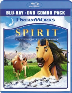 Spirit: Stallion Of The Cimarron (Blu-ray Disc)