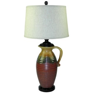 Pitcher 1-light Multi-color Table Lamp