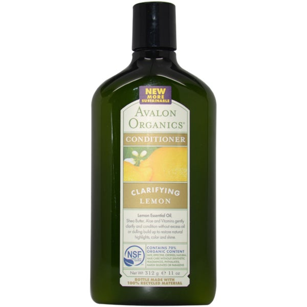 Avalon Organics Clarifying Lemon 11-ounce Conditioner