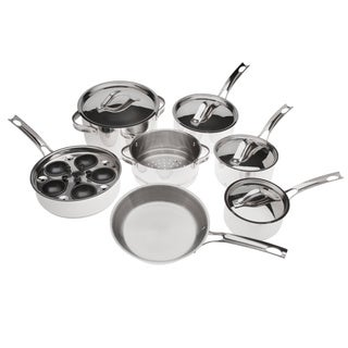 Gordon Ramsay 14-piece Stainless Steel Cookware